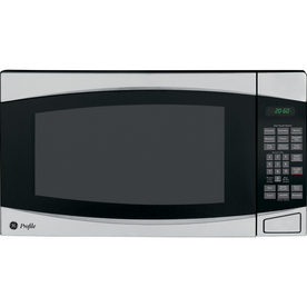GE Profile 2 cu ft 1500-Watt Countertop Microwave (Stainless)