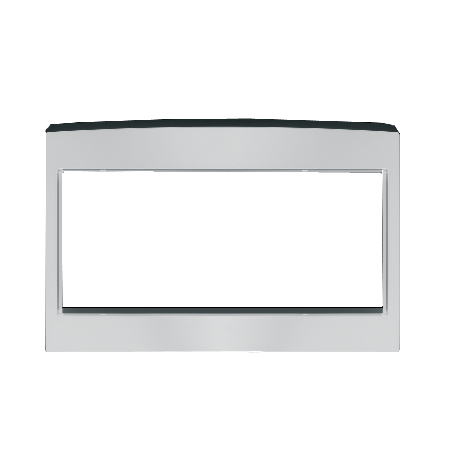 Countertop Microwave Trim Kit : Shop GE Deluxe Countertop Microwave Trim Kit at Lowes.com