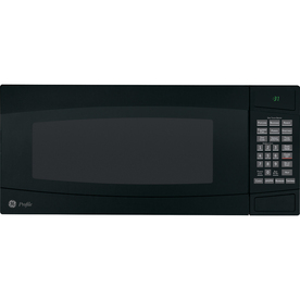 GE Profile 1 cu ft 800-Watt Countertop Microwave (Black)