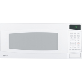 GE Profile 1-cu ft 800-Watt Countertop Microwave (White)