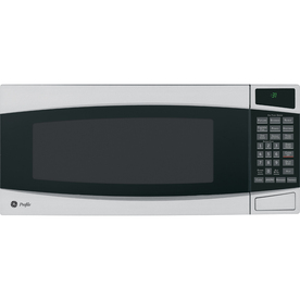 GE Profile 1 cu ft 800-Watt Countertop Microwave (Stainless)