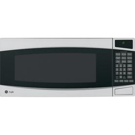 GE Profile 1-cu ft 800-Watt Countertop Microwave (Stainless)