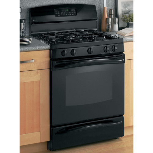 Ge Profile Pgb908dembb 30 Gas Range Black On Black