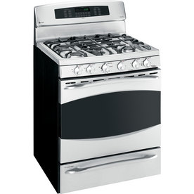 GE Profile 30-Inch Freestanding Double Oven Range (Color: Stainless)