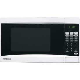 Shop Hotpoint? .7 Cu. Ft. Countertop Microwave Oven (Color: White) at ...