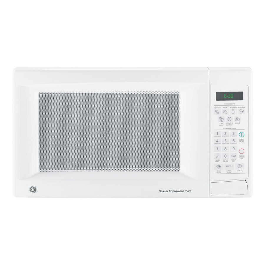Countertop Microwave White : ... zoom out zoom in ge 1 4 cu ft 1100 watt countertop microwave white