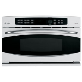 GE Profile 1.7-cu ft Built-In Convection Microwave with Sensor Cooking Controls (Stainless Steel)