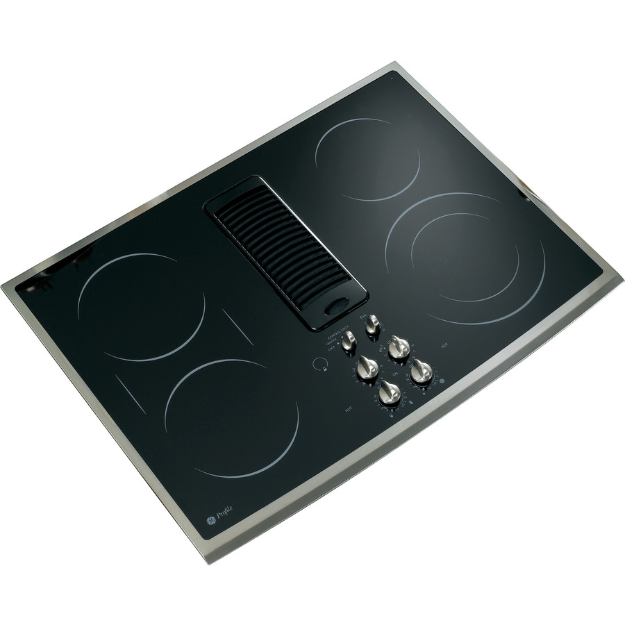 Shop GE Profile 5-Element Smooth Surface Downdraft ...