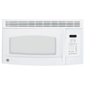 GE 1.5 cu ft Over-the-Range Microwave (White)