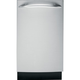 GE Profile 60-Decibel Built-In Dishwasher (Stainless Steel) (Common: 18-in; Actual 18-in)