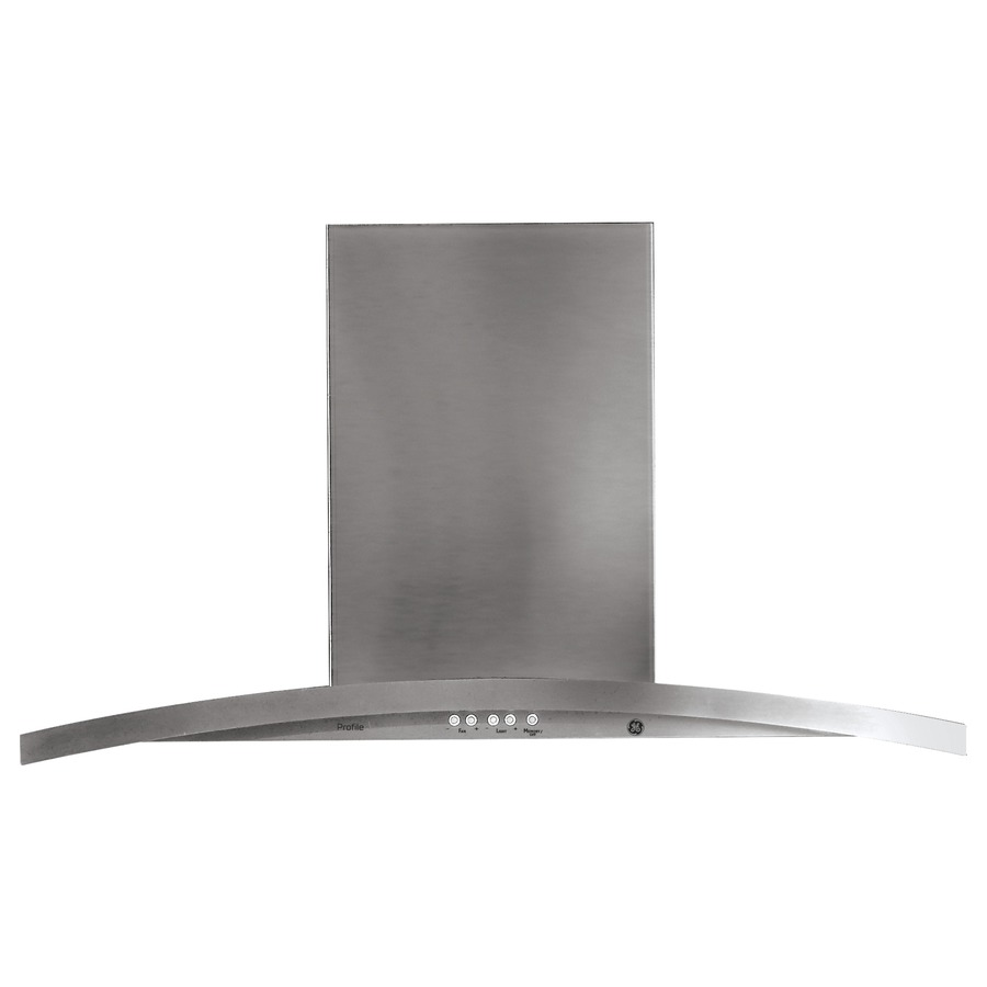 Shop Ge Profile Ducted Wall Mounted Range Hood Stainless