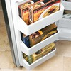 GE Profile 48-in Side-by-Side Built-In Refrigerator with Single Ice Maker (Stainless Steel)