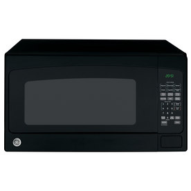 GE 2 cu ft 1200-Watt Countertop Microwave (Black)