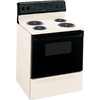 Hotpoint 30-in Freestanding 5 cu ft Self-Cleaning Electric Range (Bisque)