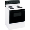 Hotpoint 30-in Freestanding 5 cu ft Self-Cleaning Electric Range (White)