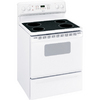 Hotpoint 30-in Freestanding Smooth Surface 5 cu ft Self-Cleaning Electric Range (White)