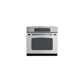 GE 30-in Self-Cleaning Convection Single Electric Wall Oven (Stainless Steel)
