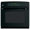 GE 30-in Self-Cleaning Single Electric Wall Oven (Black)