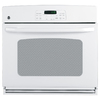 GE 30-in Single Electric Wall Oven (White)