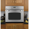 GE 30-in Self-Cleaning Single Electric Wall Oven (Stainless Steel)