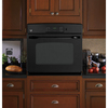 GE 30-in Single Electric Wall Oven (Black)