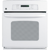 GE 27-in Self-Cleaning Convection Single Electric Wall Oven (White)