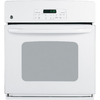 GE 27-in Single Electric Wall Oven (White)