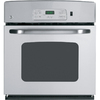 GE 27-in Single Electric Wall Oven (Stainless Steel)