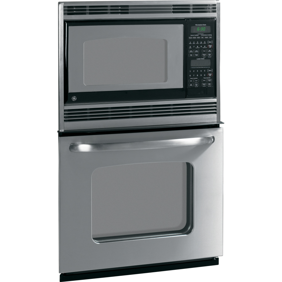 Shop Ge Self Cleaning Microwave Wall Oven Combo Stainless
