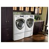 GE Profile 4.3-cu ft High-Efficiency Stackable Front-Load Washer with Steam Cycle (White) ENERGY STAR