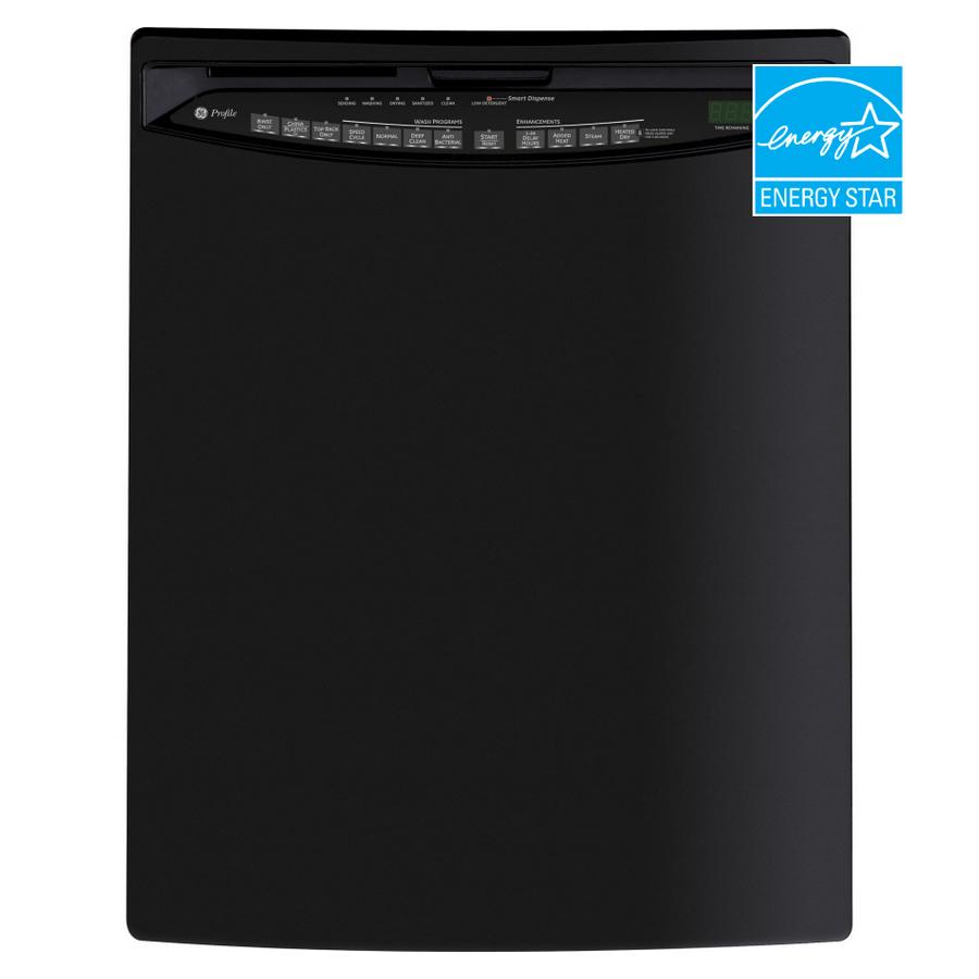 Shop Ge Profile 24 Inch Built In Dishwasher Color Black