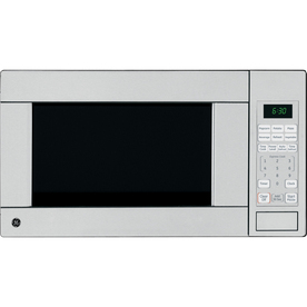 GE 1.1 cu ft 1100-Watt Countertop Microwave (Stainless)