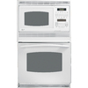 GE Profile Self-Cleaning Microwave Wall Oven Combo (White) (Common: 30-in; Actual 29.75-in)