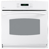 GE Profile 30-in Self-Cleaning Convection Single Electric Wall Oven (White)