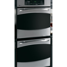 GE Profile 27-in Self-Cleaning Convection Double Electric Wall Oven (Stainless Steel)