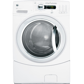 GE 4.1 cu ft Front-Load Washer (White) ENERGY STAR
