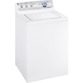 GE 3.6 Cu. Ft. Top-Load Washer (White)