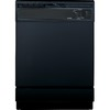 Hotpoint 24-in Built-In Dishwasher with Hard Food Disposer (Black)