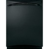 GE Profile 24-in Built-In Dishwasher with Hard Food Disposer and Stainless Steel Tub (Black) ENERGY STAR