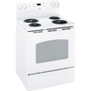 GE 30-in Freestanding 5.3 cu ft Self-Cleaning Electric Range (White)
