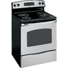 GE 30-in Freestanding 5.3 cu ft Self-Cleaning Electric Range (Stainless Steel)