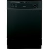Hotpoint 24-in Built-In Dishwasher with Hard Food Disposer (Black) ENERGY STAR
