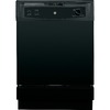 GE 64-Decibel Built-In Dishwasher with Hard Food Disposer (Black) (Common: 24-in; Actual 24-in) ENERGY STAR