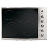 GE Profile 30-in Smooth Surface Electric Cooktop