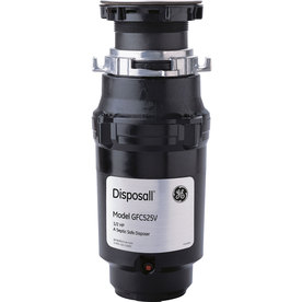 GE 1/2-HP Garbage Disposal with Sound Insulation