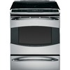 GE Profile 30-in 5-Element 5.3 cu ft Self-Cleaning Slide-In Induction Range (Stainless Steel)