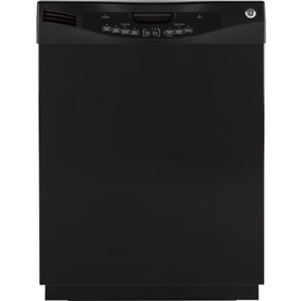 GE 57-Decibel Built-In Dishwasher with Hard Food Disposer (Black) (Common: 24-in; Actual 24-in) ENERGY STAR