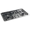 GE 5-Burner Gas Cooktop (Stainless Steel) (Common: 36-in; Actual: 36-in)