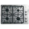 GE Profile 30-in 4-Burner Gas Cooktop (Stainless)