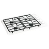 GE 30-in 4-Burner Gas Cooktop (White)